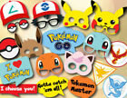 Kids Pokemon Birthday Party Supplies Favor Tableware Decoration Plate Mask Gift