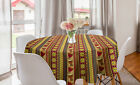 Ambesonne African Round Tablecloth Table Cover for Dining Room Kitchen