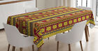 Ambesonne African Theme Tablecloth Table Cover for Dining Room Kitchen