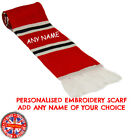 Scotland Personalised Embroidered Scarf Mens Ladies Kids Gift