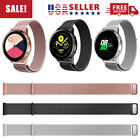 2020 New For Samsung Galaxy Active 2 Watch 42mm 40mm 44mm Silicone Band Magnetic image