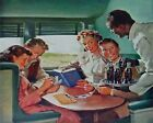 Coca Cola Vintage Poster Collection (11) - Van-Go Paint-By-Number Kit $31.15  on eBay