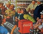 Coca Cola Vintage Poster Collection (31) - Van-Go Paint-By-Number Kit $31.15  on eBay