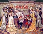 Coca Cola Vintage Poster Collection (43) - Van-Go Paint-By-Number Kit $31.15  on eBay