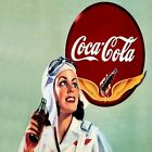Coca Cola Vintage Poster Collection (46) - Van-Go Paint-By-Number Kit $31.15  on eBay