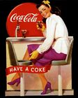 Coca Cola Vintage Poster Collection (47) - Van-Go Paint-By-Number Kit $46.73  on eBay