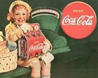 Coca Cola Vintage Poster Collection (52) - Van-Go Paint-By-Number Kit $31.15  on eBay