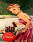 Coca Cola Vintage Poster Collection (55) - Van-Go Paint-By-Number Kit $31.15  on eBay