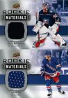 2019-20 UPPER DECK SERIES 2 ROOKIE MATERIALS JERSEY A-B-C RC SINGLES - YOU PICK