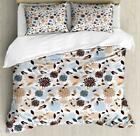 Earthy Tones Duvet Cover Set Twin Queen King Sizes with Pillow Shams