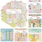 12Pcs Rice Paper Floral Decoupage Scrapbook Craft Background Card Sheet DIY