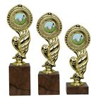 Golf Club Gold Trophy Liberty Award On Marble Base 3 Sizes Engraved Free