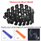 Motorcycle Heat Shield Exhaust Muffler Pipe Silicone Protective Cover Universal $25.51 USD on eBay