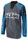 KTM Hydroteq Shirt Grey Blue Waterproof Motocross MX Motorcycle Jersey NEW