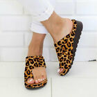 Women Girl Comfy Sandals Shoes Bunion Corrector - PU LEATHER