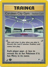 Cerulean City Gym Trainer Uncommon Pokemon Card 1st Edition Gym Heroes 108/132