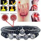 Women Men Magnetic Bracelet Beads Hematite Stone Therapy Health Care Weight Loss