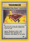 Cinnabar City Gym Stadium Trainer Uncommon Pokemon Card Gym Challenge 113/132