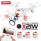 Syma X21W RC Drone Mini Wifi HD Camera 4CH 6-Axis Gyro Quadcopter Toy Gift UK