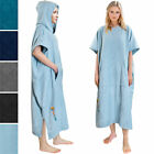 Surf Poncho Wetsuit Changing Robe Towel Hooded Pocket for Men Women Beach Surfer