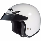 HJC CS-5N White DOT Open-Face Helmet - Adult Sizes XS-2XL