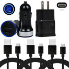 Phone Type C Cable For Moto Z3 Z2 Play LG G6 G7 Power Home Wall Car Charger Plug