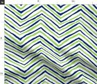 Flourescent Green Fluorescent Seattle Seahawks Fabric Printed by Spoonflower BTY $20.5 USD on eBay