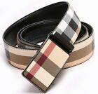 Kyпить Women Men Belt Fashion Soft Leather Waistband Belt Strap Automatic Ratchet Slide на еВаy.соm