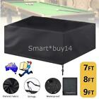 7/8/9ft Billiard Table Cover Outdoor Pool Snooker Polyester Waterproof Dust Cap $37.99 AUD on eBay