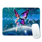 For Optical Laser Mouse Anti-Slip Computer Mice Pad Mat Mousepad Purple Flower