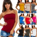 Top Band Woman Tube Sleeveless Bandeau Tight Bustier AS-835-1