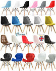 Eiffel Inspired Dining Chairs Solid Wooden Legs Home Kitchen Lounge Office Chair