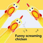 Rubber Screaming Chicken Toy For Kids & Pets Durable, Funny Squeaky Dog Chew Toy
