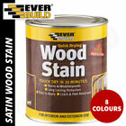 Everbuild Wood Stain Indoor and Outdoor Quick Drying 750ml - 8 Colours
