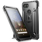 Google Pixel 3a /3a XL Case [Revolution] Shockproof Dust Resistant Cover w/Stand