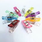 50x Magic Wonder Clips Plastic for Fabric Quilting Craft Sewing Knitting Crochet