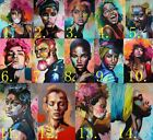 African Woman Portrait Canvas Painting Abstract Wall Decor Canvas Wall Art for sale  Shipping to Nigeria
