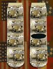 Battle of Cedar Creek American Civil War/War Between the States crew socks
