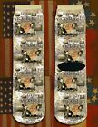 Battle of Vicksburg American Civil War/War Between the States crew socks