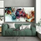 Colorful Ocean Large Abstract Poster Canvas Art Landscape Oil Painting Prints