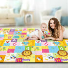 Kyпить Foldable Play Mat Large Folding Reversible Baby Soft Crawling Mats For Non-toxic на еВаy.соm