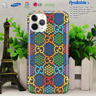 Case Guccy53r for iPhone 6 7 8 X XR XS 11 Pro Max/Samsung Galaxy S20Psychedelic