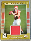 2017 Donruss Optic  Rookie Threads YOU CHOOSE Complete Your Set $3.14 USD on eBay