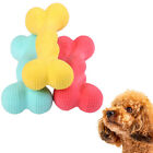 2PCS DOG SCENTED BONE SHAPE BITE-RESISTANT TEETH CARE PUPPY PLAY CHEW TOY ALL