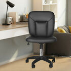 Adjustable Casual Lift Chair Office Work Chair Beauty Salon Barber Chair Black