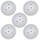 UtilitechGoControl Z-Wave SMART GLASS BREAK DETECTOR - 5 PACK - NEW