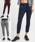 GAP FIT Pintuck Ankle Pants in Brushed Jersey Soft Leggings Yoga Pants