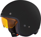 AFX Youth FX142 Solid Color Open Helmet GLOSS BLACK