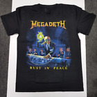 New Megadeth-Rust In Peace T-shirt Band Concert Cotton Reprint FREE SHIP TH94036 image