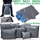 Strong Cheap Grey Mailing Packing Bag Strong Poly Postal Postage Post Mail Bags